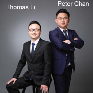 Thomas Li, CEO & Peter Chan, Creative Director, Creavidia