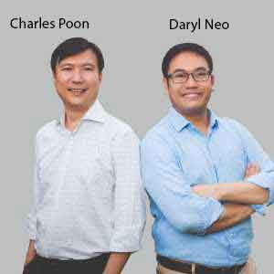 Charles Poon, Founding Director & Daryl Neo, Founding Director & CEO, Handshakes