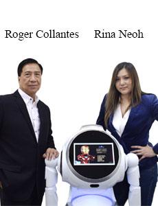 Roger Collantes, Co-Founder & CEO and Rina Neoh, Founder, Smarter Robotics