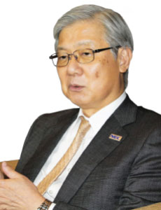 Takashi Niino, President & CEO, NEC Corporation