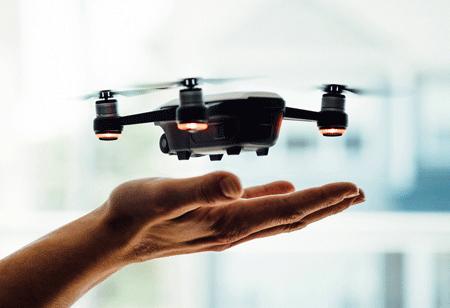 Drone's Leap of Faith