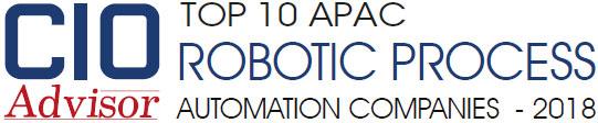 Top 10 APAC RPA Companies - 2018