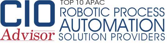 Top 10 RPA Cloud Solution Companies in APAC - 2019