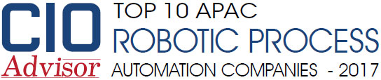 Top 10 APAC Robotic Process Automation Companies 2017